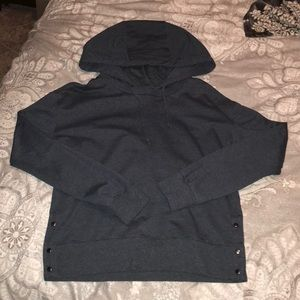 Banana republic side button hoodie